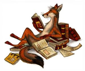 The Reader by CulpeoFox